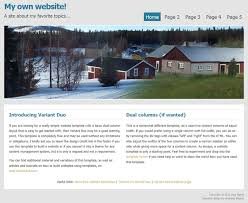 Template Websites Awesome Tutorial Building Your First Website Using A Free Website Template