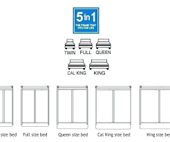 Bed Sheet Sizes Chart Freesell Club