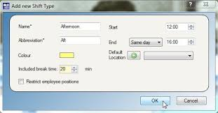 Abc Roster Free Employee Shift Scheduling Software