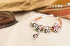 pandora moments sliding leather bracelet pandora sliding golden tan leather bracelet 597225cgt summer 2018 pre