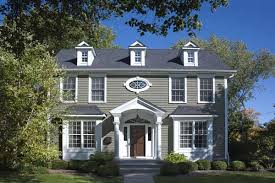 exterior paint colors for colonial style house. paint color ideas for colonial revival houses exterior colors style house c