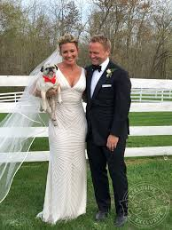 I was surrounded by a lot of dudes. Cnn Brooke Baldwin Wedding Dress Details People Com