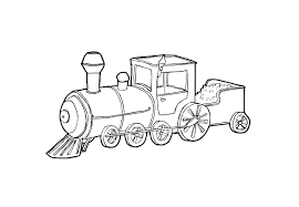 steam engine coloring pages train colouring sheets page free
