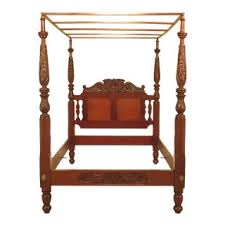 Vintage & Used Canopy Bed Frames for Sale | Chairish