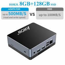 AWOW NYi3 <b>Mini PC</b>, Desktop PC, <b>Intel Core</b> i3 5005U Windows 10 ...