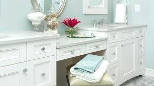 Bathroom vanity ideas makeup station Double Sink Double Vanity With Makeup Station Bedroom Bathroom Vanity With Makeup Station Double Vanity Makeup Area With Jmsanlucarorg Double Vanity With Makeup Station Eddiehansonco