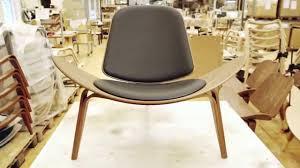 The Shell Chair By Hans J Wegner Youtube