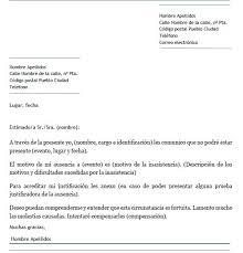 Ejemplo De Carta De Disculpa Por Inasistencia Carta De Disculpa
