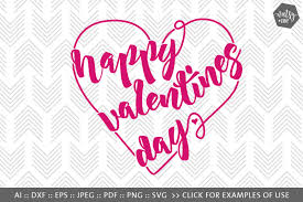 Perfect for valentine's day diy craft projects! Free Happy Valentines Day Heart Svg Png Vector Cut Files Crafter File
