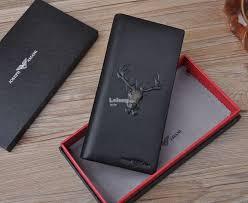 joseph amani summer 2018 deer long leather wallet