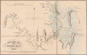 Moreton Bay And Brisbane River 1825 Queensland Historical