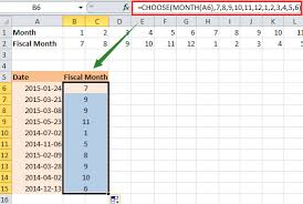 Calendar Year Quarters How To Convert Date To Fiscal Year Quarter Month In Excel