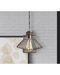 craft metal lighting. Design Craft Ezra 1 Light Vintage Copper Swag Pendant (Ezra Pendant) Metal Lighting