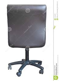 office chair back view. Download Back View Of Leather Office Chair Isolated On White Stock Image - Luxury
