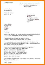 Formal Letter Format Sample 9+ french formal letter format | trinity-training