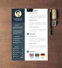 Modern Resume Template Word Inspiration Modern Resume Template Word Templates Free Beautiful Day Mod Mklaw