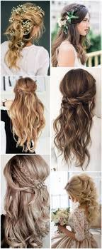 Half Up Half Down Wedding Hairstyles 65 Awesome 24 Amazing Half Up Half Down Wedding Hairstyle Ideas Pinterest