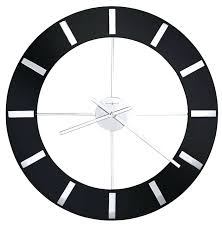 large black wall clock miller onyx large contemporary wall clock large black wall clock ikea