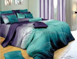 teal queen bedding. Simple Teal Cotton Mordern Design Blue Purple Geometric Pattern Hot Sale Bedlinen 4pcs  Queenfull Bedding Sets Comforterquiltduvet Coversin Bedding Sets From Home  In Teal Queen N
