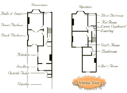 The House   Victorian Floor PlansFloor Plan of the House   Image courtesy of Thirteen WNET