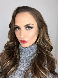 friday glam makeup
