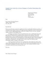 Stunning Sample Cover Letter For Teacher Photos Hd Goofyrooster