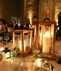 Creative decor diy lighting wedding full size Balloons We Used Clear Glass Hurricanes And In Pillar Candles Again Varying The Heights Truly Very Doable Diy Project If You Plan Ahead The Home Depot Blog Simple Diy Wooden Lanterns The Home Depot Blog