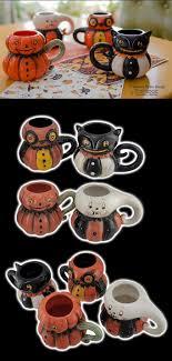 J Parker Design Mugs Johanna Parker Vintage Inspired Halloween Mugs Part Of