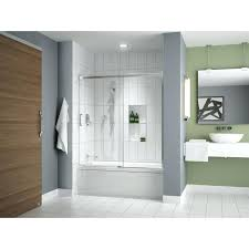 in twin roller sliding shower door hardware stainless steel satin chrome barn track from reliable