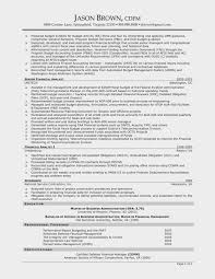 Understand The Background Of Finance Manager Resume Sample
