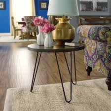 Wood Hairpin End Table | World Market