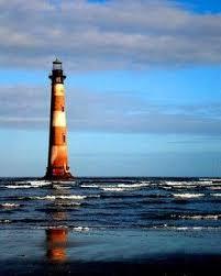Tide Chart Folly Beach 2019 Folly Beach Morris Island Lighthouse C 1876 Low Country