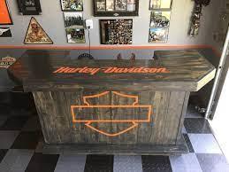 harley davidson bar man cave home bar