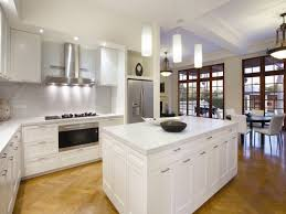 white modern elegant looking pendants lighting in kitchen shines wooden floor natural color beautifully