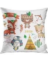 USART Colorful <b>Fox</b> Forest Friends Cute <b>Woodland Animals</b> ...