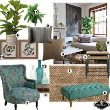 Neutral Color For Living Room Living Room Design Board With Natural Elements Neutral Colors