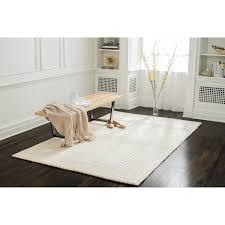 off white area rug. Modren Rug Jani Eya Jute Blend Off White Area Rug  8u0026x27  Intended G