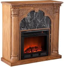 electric fireplace old world oak decor details electric fireplace heater