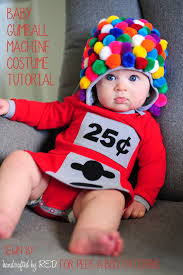 diy baby gumball machine costume k a boo pages patterns fabric more