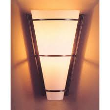 hubbardton forge half cone fluorescent wall sconce with opal glass hf 20 6551f