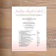 Sorority Resume Example What to Include on a Sorority Resume SororityPackets 16