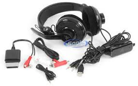 razer caracharias xbox 360 pc gaming headset headphones black product razer carcharias xbox 360 black