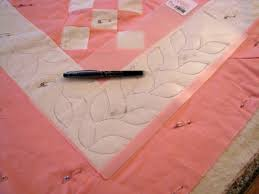 How To Use Plastic Quilting Stencils - Best Accessories Home 2017 & Using Hand Quilting Stencils Ideas Adamdwight.com
