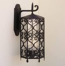 spanish revival outdoor lighting fixturer wrought iron landscape 0fe54374b828e7cad66cf03d996ad6fb o full size