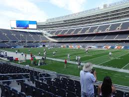 Soldier Field View From Lower Level 131 Vivid Seats
