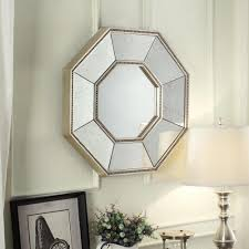 Showcase distinctive style with our Inspire Q mirror collection. Generously  sized, beveled mirrored design