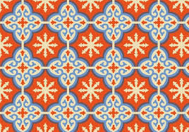 Morrocan Pattern Fascinating Orange Moroccan Pattern Background Vector Download Free Vector Art