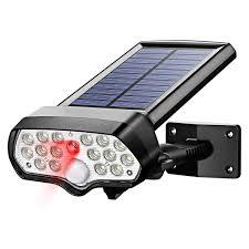 Solar Powered Red Led Lights Amazon Com Balscw J Solar Motion Spotlight Outdoor Ip65