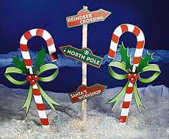 Candy Cane Lane Decorations Outdoor Christmas Decoration Ideas Candy canes Holidays and 1