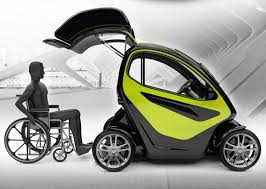Equal A Compact Electric Vehicle Specially Designed For People